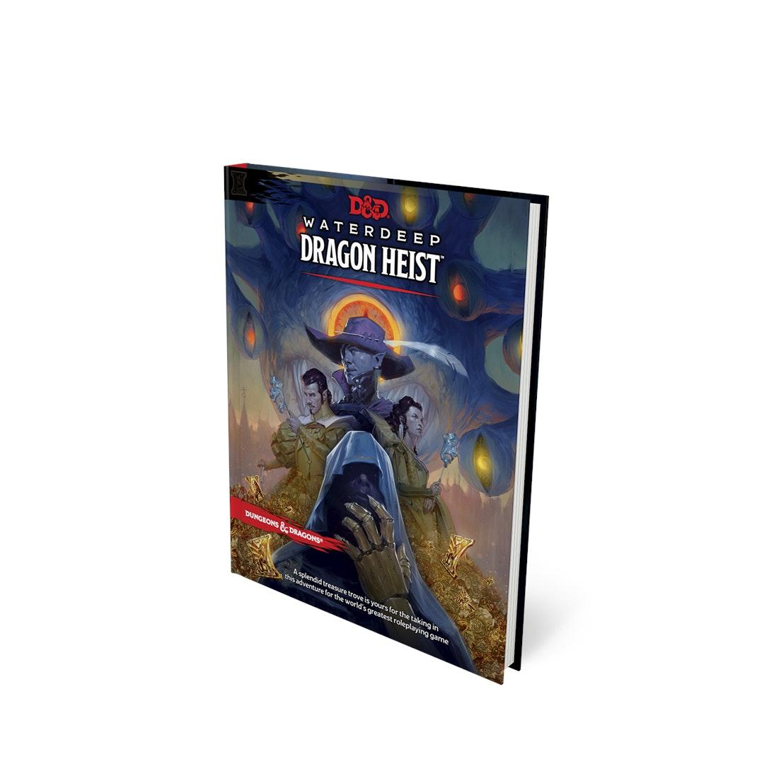 D&D Waterdeep: Dragon Heist Book