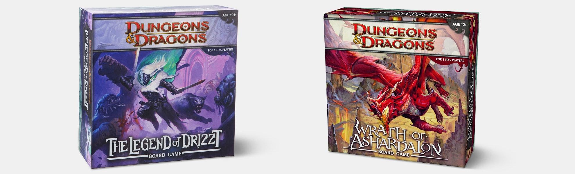 D&D: Wrath of Ashardalon & Legend of Drizzt Bundle