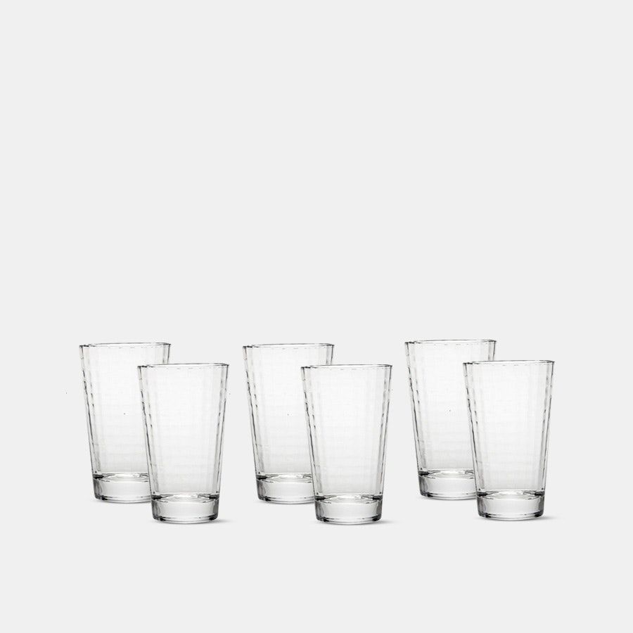 D&V Armonia Highball Glasses (Set of 6)