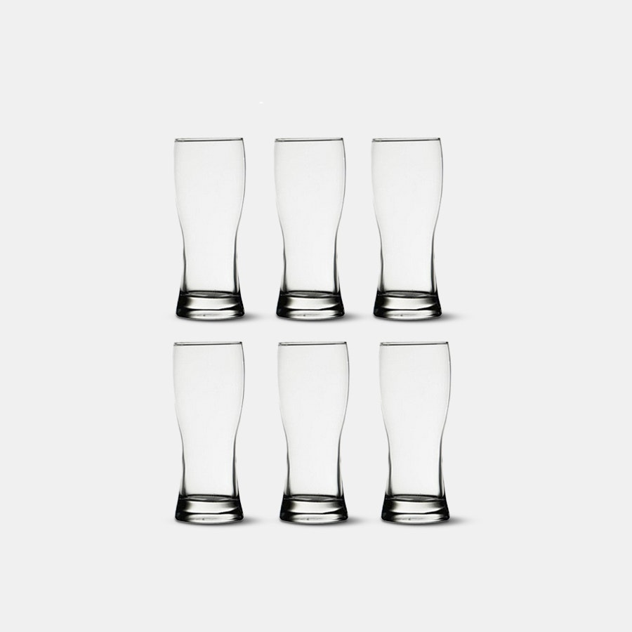D&V Beer Glasses (Set of 6)