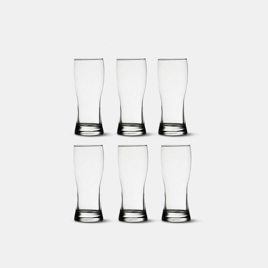 D&V Beer Glasses (Set of 6)