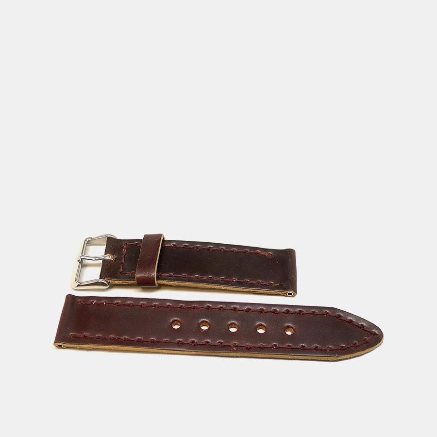 Da Luca Custom Shell Cordovan Two-Piece Watch Strap