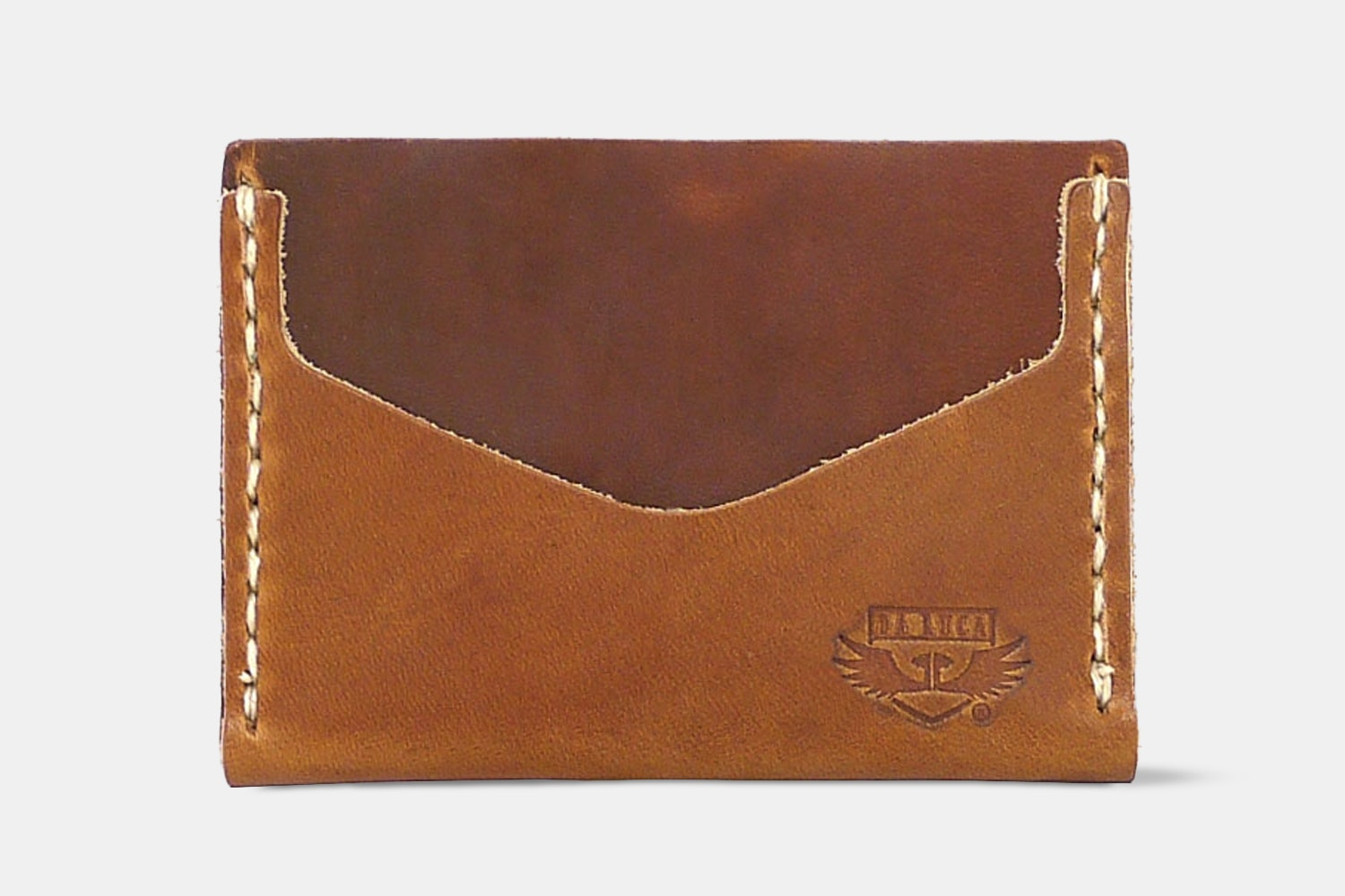 Horizontal Card Wallet - Natural Dublin - Natural Dublin