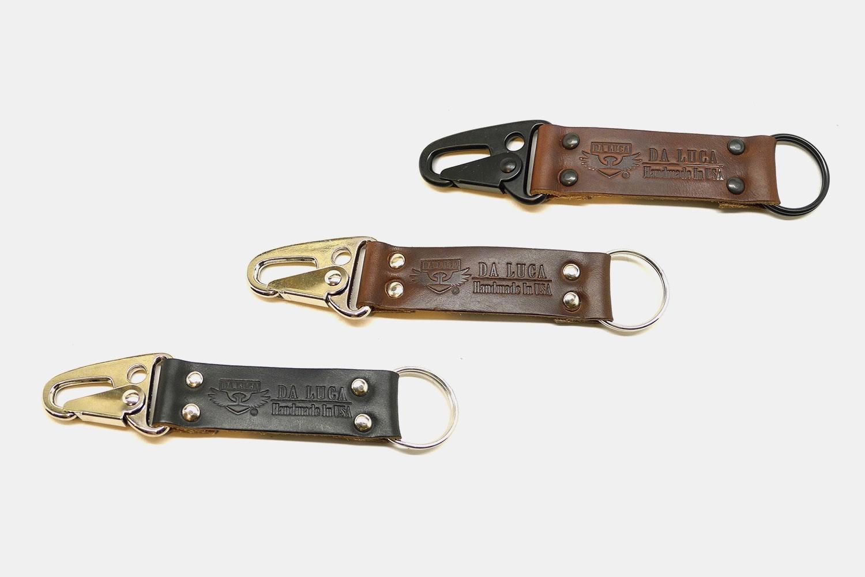 Da Luca Leather Keychain
