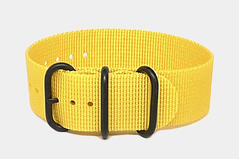 Yellow - Black PVD