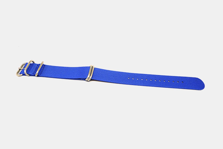 Da Luca One-Piece Nylon Watch Strap (2-Pack)