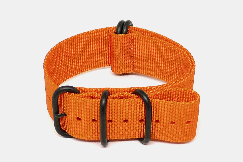 Orange - Black PVD