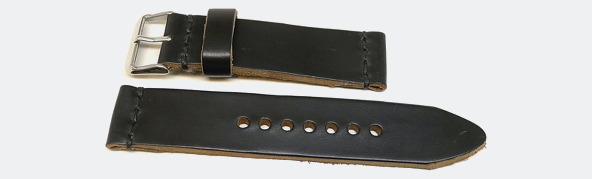 Da Luca Two-Piece Leather Watch Strap