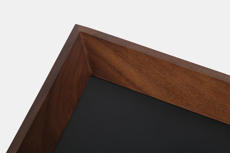 Da Luca Wood & Leather Valet Tray