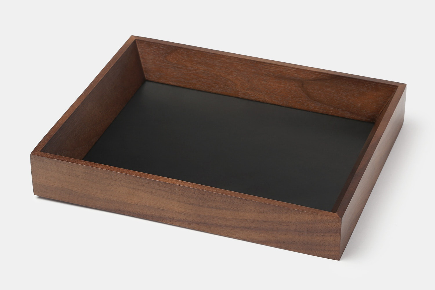 Da Luca Wood & Leather Valet Tray