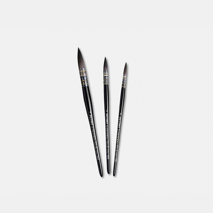 Da Vinci Casaneo 498 Quill Watercolor Brush Set