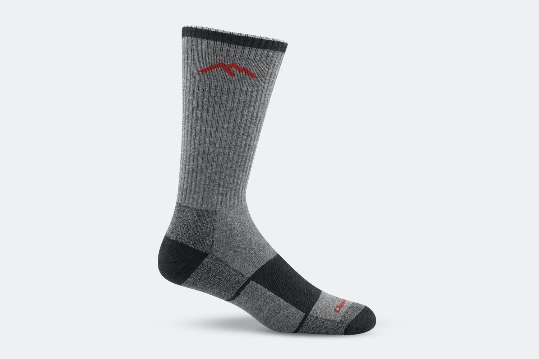 Men's – Hiker Boot Sock Full Cushion – 1933 – Gray/Black (+ $3)