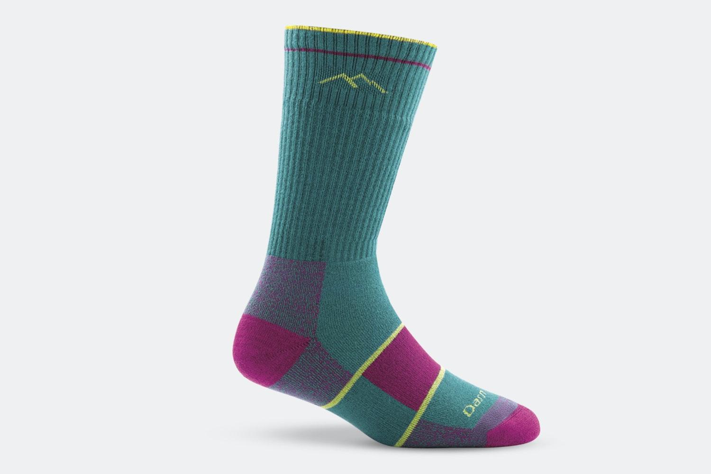 Women 's – Boot Sock Full Cushion – 1934 – Teal (+ $3)