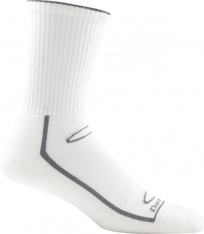 Gym Sock Solid #1745, White