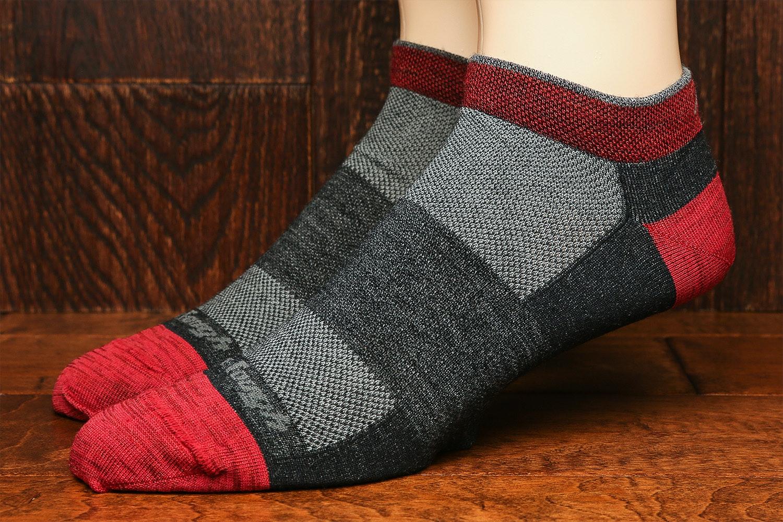 Darn Tough Men's & Women's No-Show Socks (3-Pack)