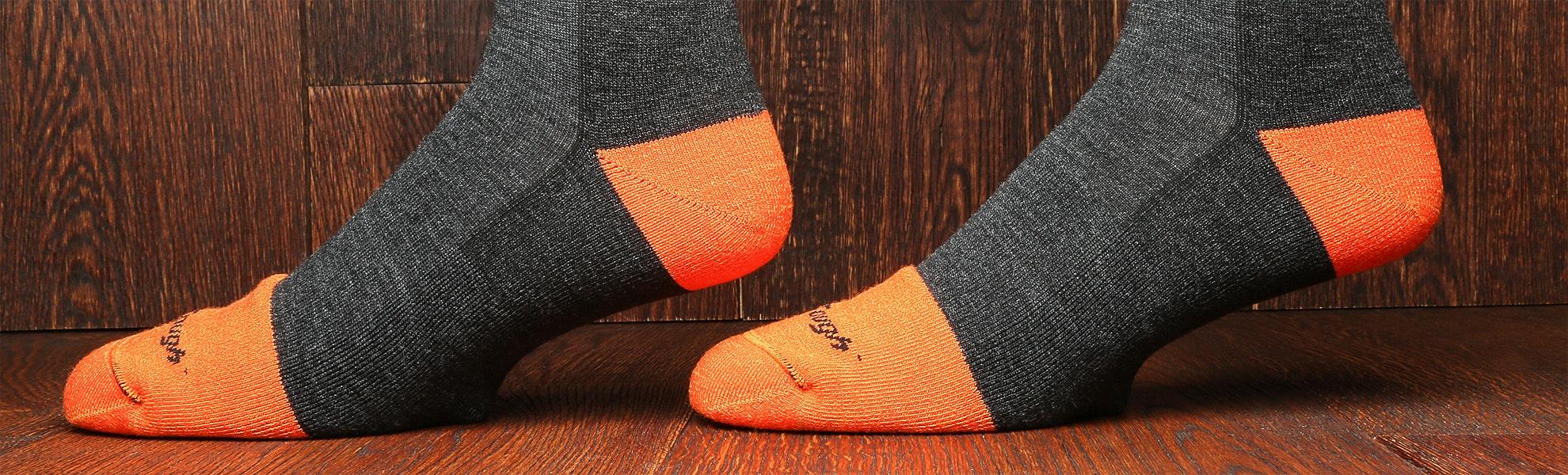 Darn Tough Mens Steely Socks (2-Pack)