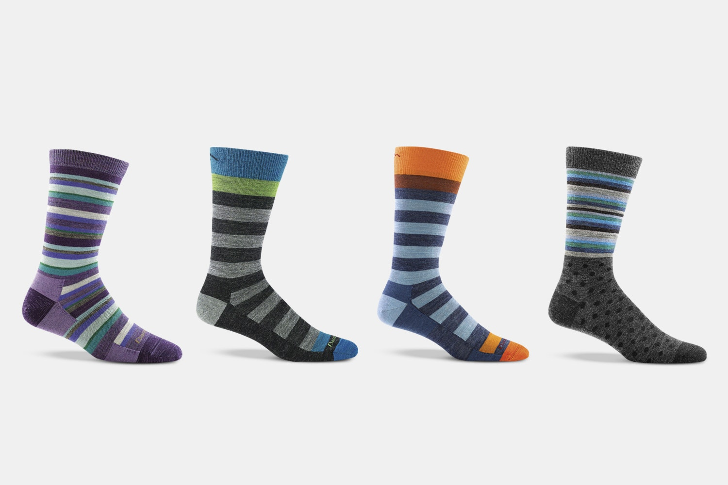 Darn Tough Striped Lifestyle Socks (2-Pack)