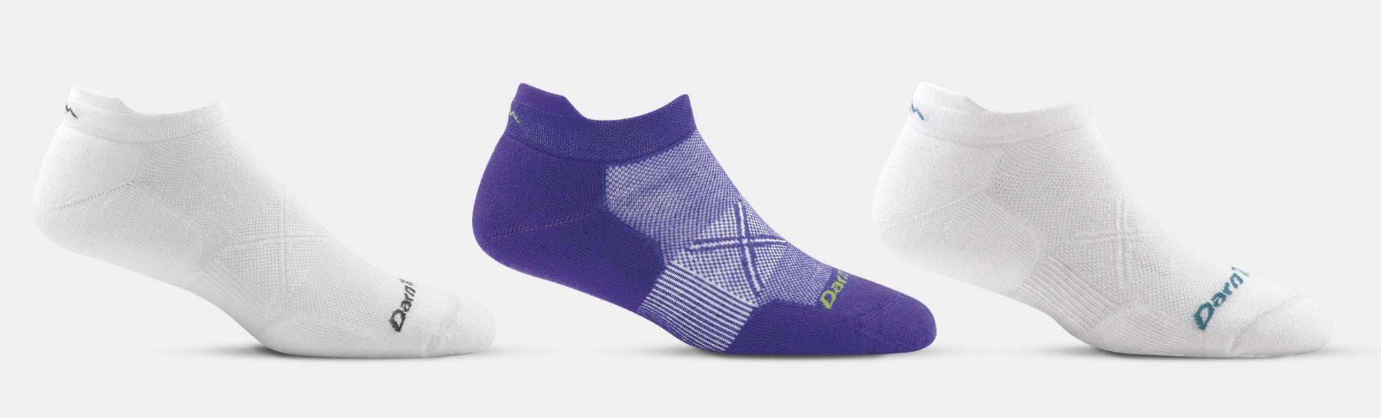 Darn Tough Vertex No-Show Running Socks (2-Pack)