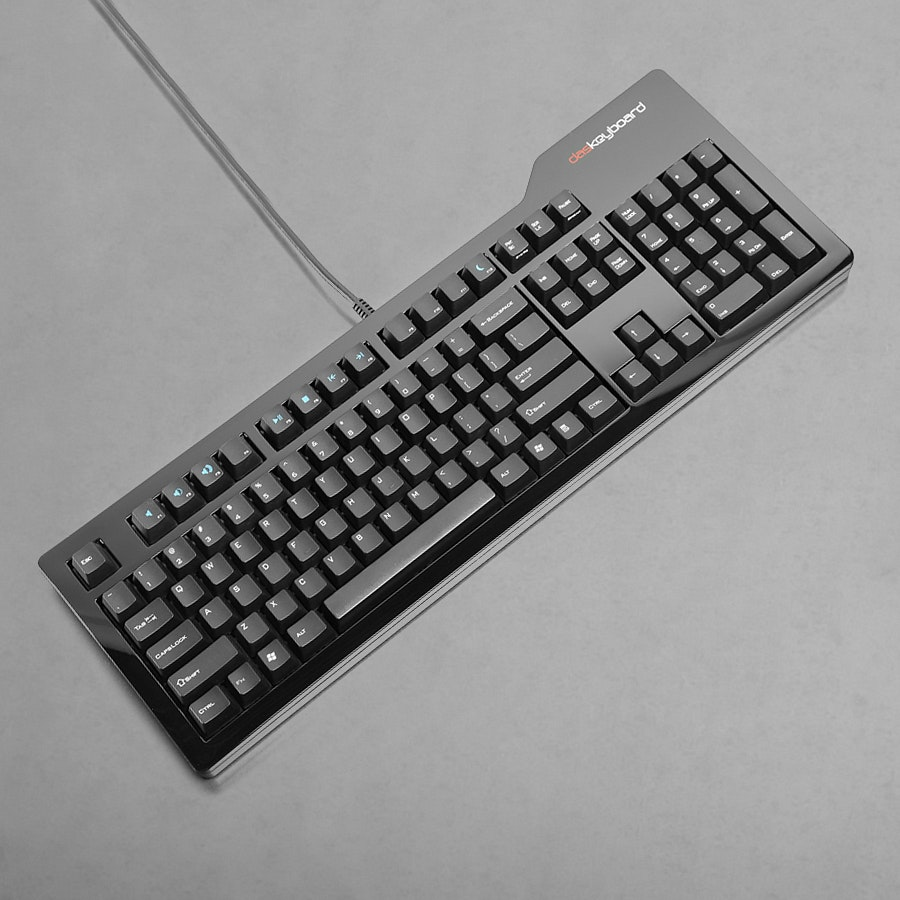 Das Keyboard Model S Pro- MX Brown + T-shirt