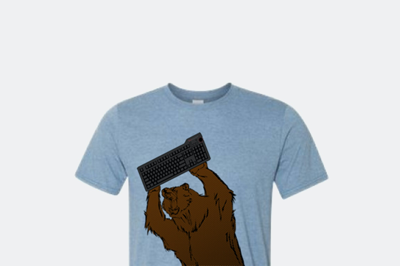Das Keyboard Model S Pro- MX Brown + T-shirt