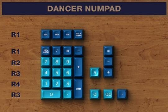 Dasher & Dancer SA Custom Keycap Set