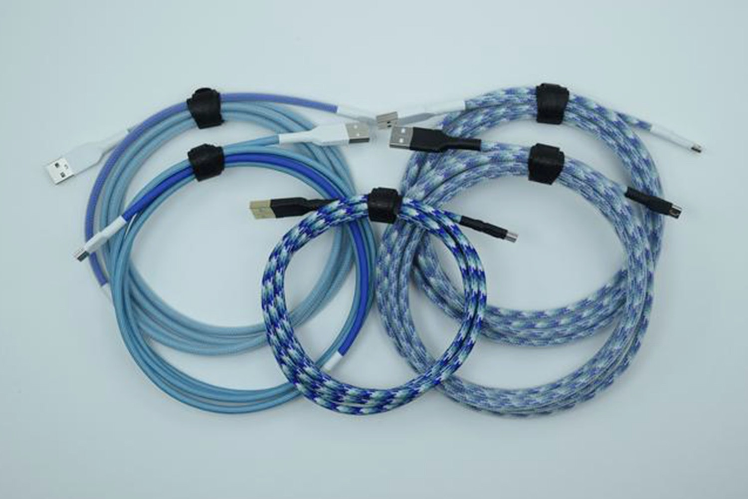Dasher & Dancer Custom-Sleeved USB Cable