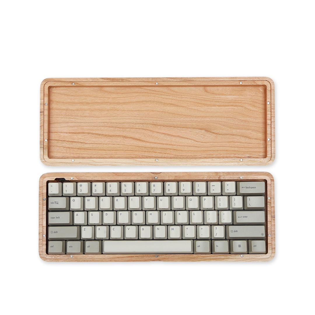 Datamancer 60% Hardwood Magnetic Keyboard Case