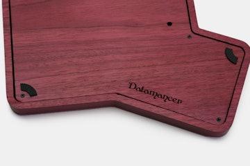 Datamancer Infinity Ergodox Hardwood Case