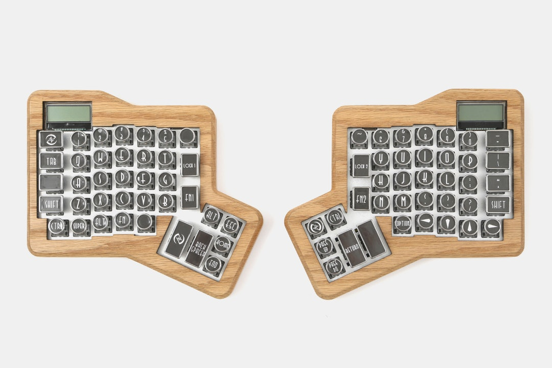Datamancer Typewriter Keycap Set