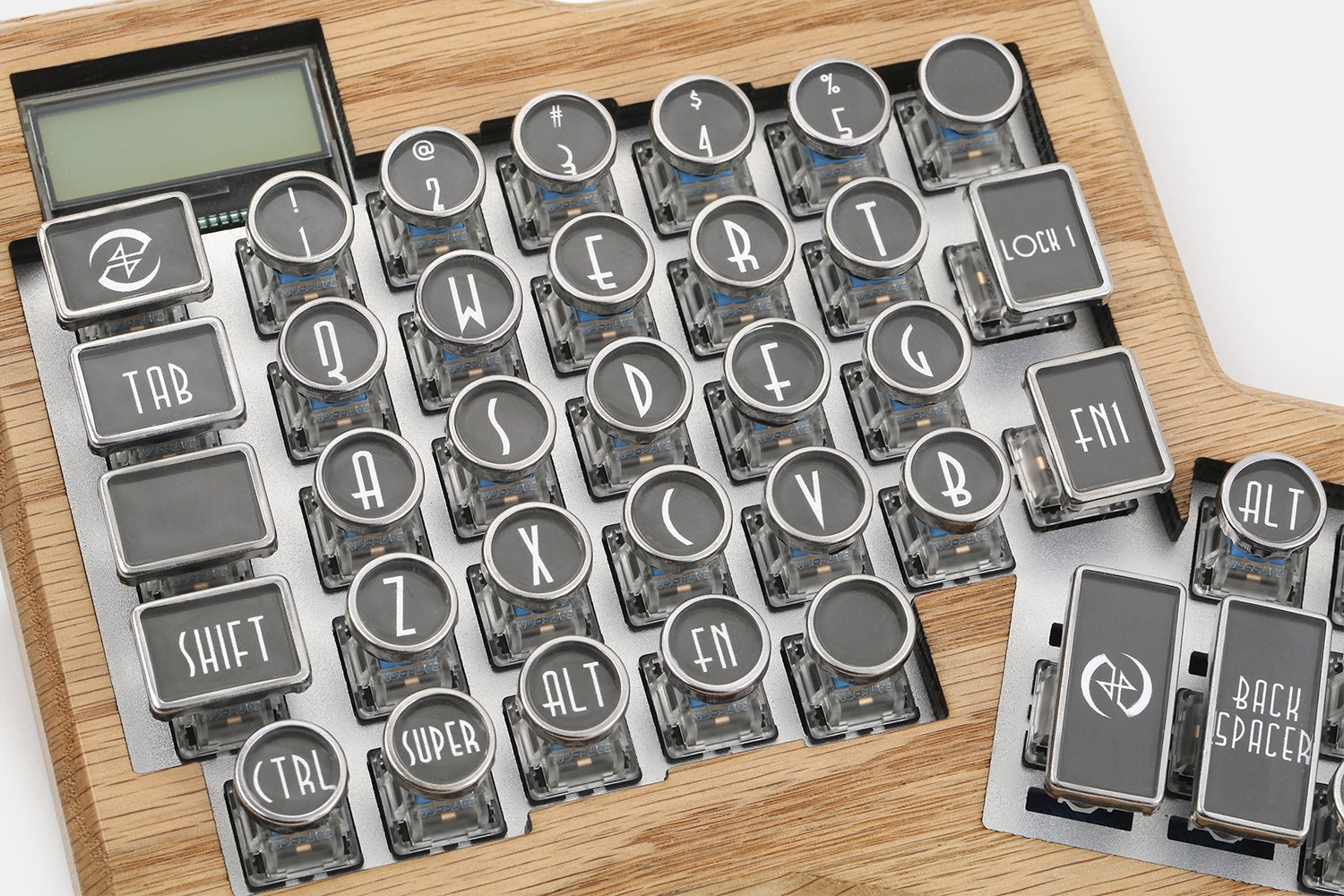 Datamancer Typewriter Keycap Set