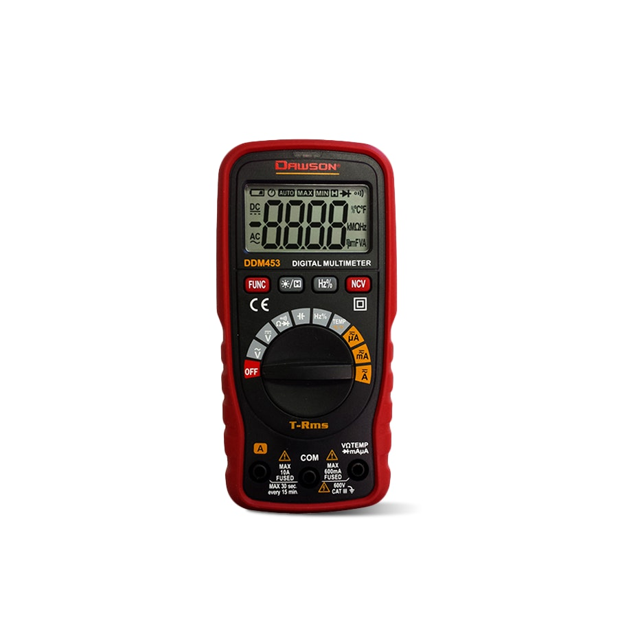 Dawson DDM450 & 453 Auto-Range Digital Multimeters