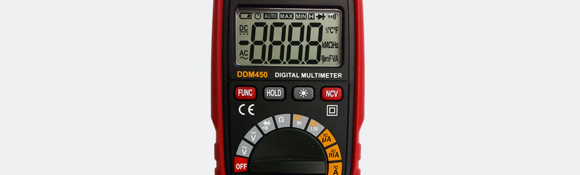 Dawson DDM450 & 453 Auto-Range Digital Multimeters