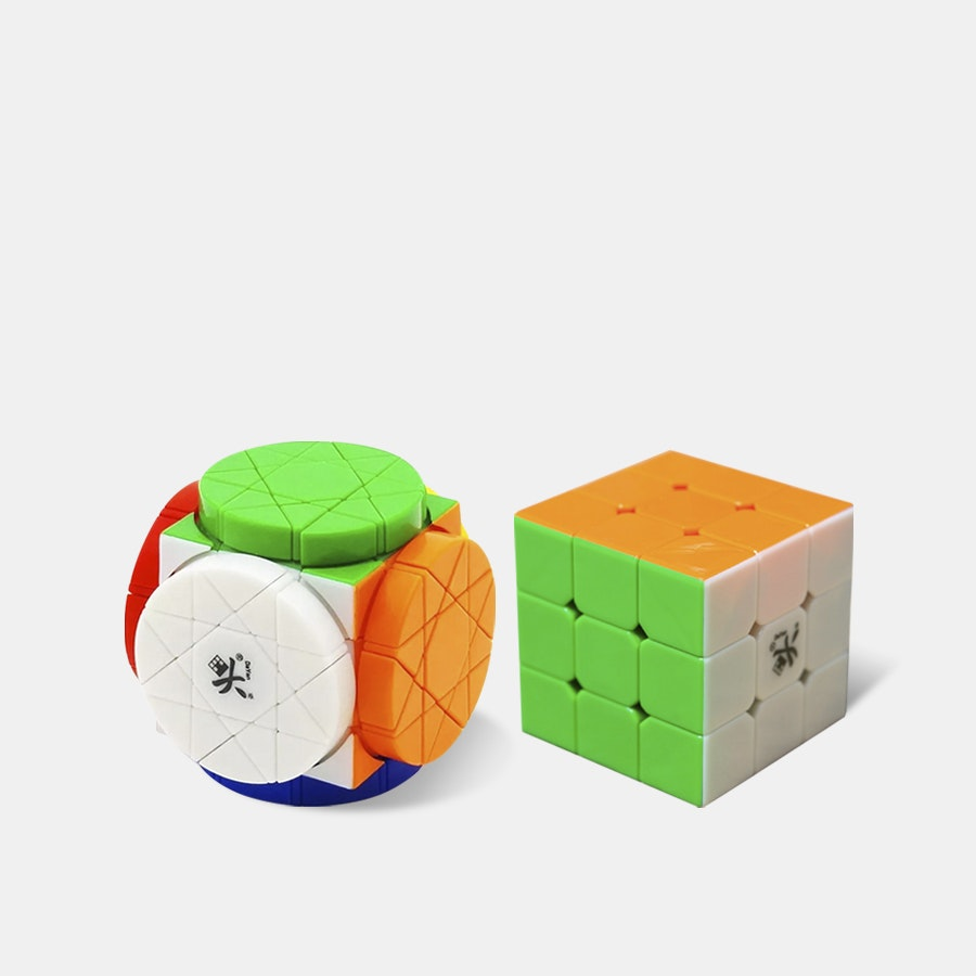 DaYan Wheels of Wisdom Puzzle Cube Bundle