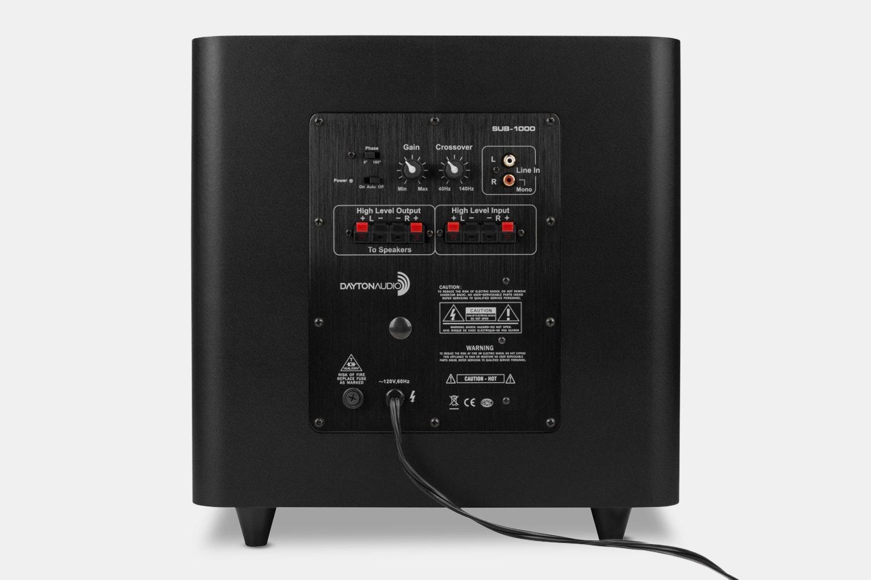 Dayton Audio B652-AIR Speakers & SUB-1000