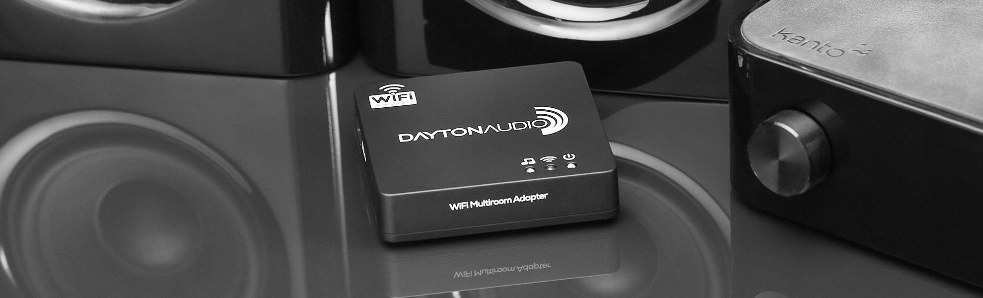 Dayton Audio Wi-Fi Multi-Room Audio Adapter