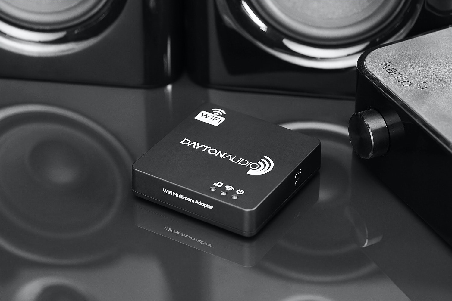 Dayton Audio Wi-Fi Multi-Room Audio Adapter