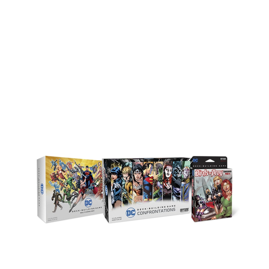 DC Comics Deck-Building Game Expansion Bundle