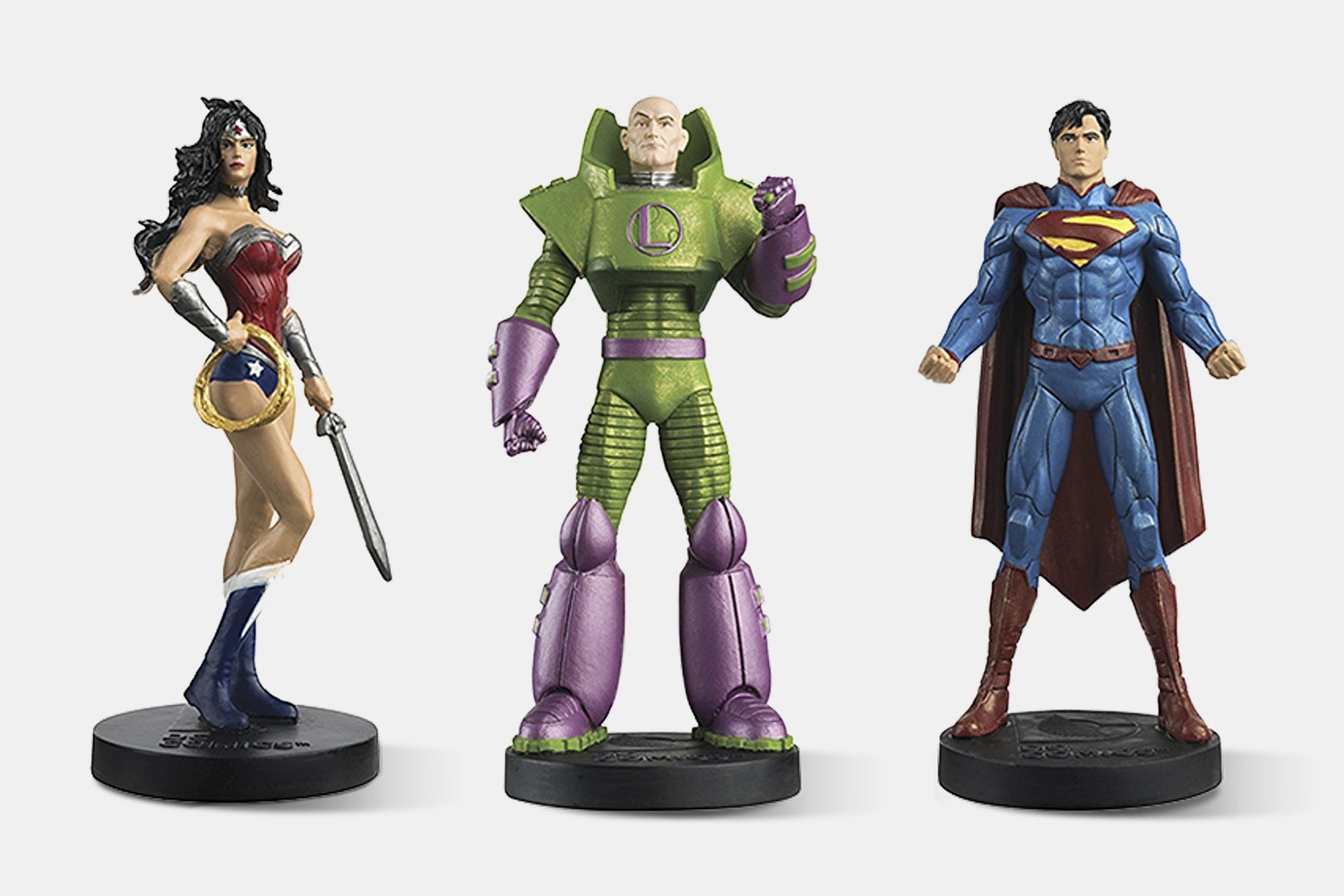 Box Set 1 (Superman, Wonder Woman, and Lex Luthor)