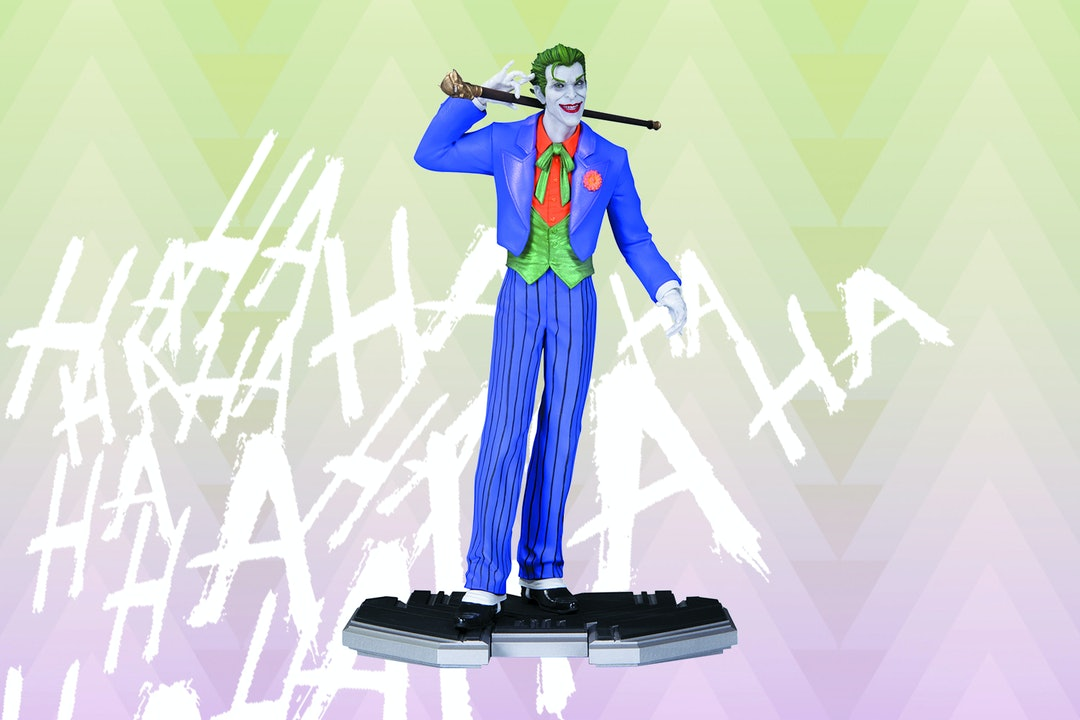 DC Icons Joker Statue