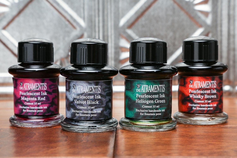 De Atramentis Pearlescent Inks (4-Pack)