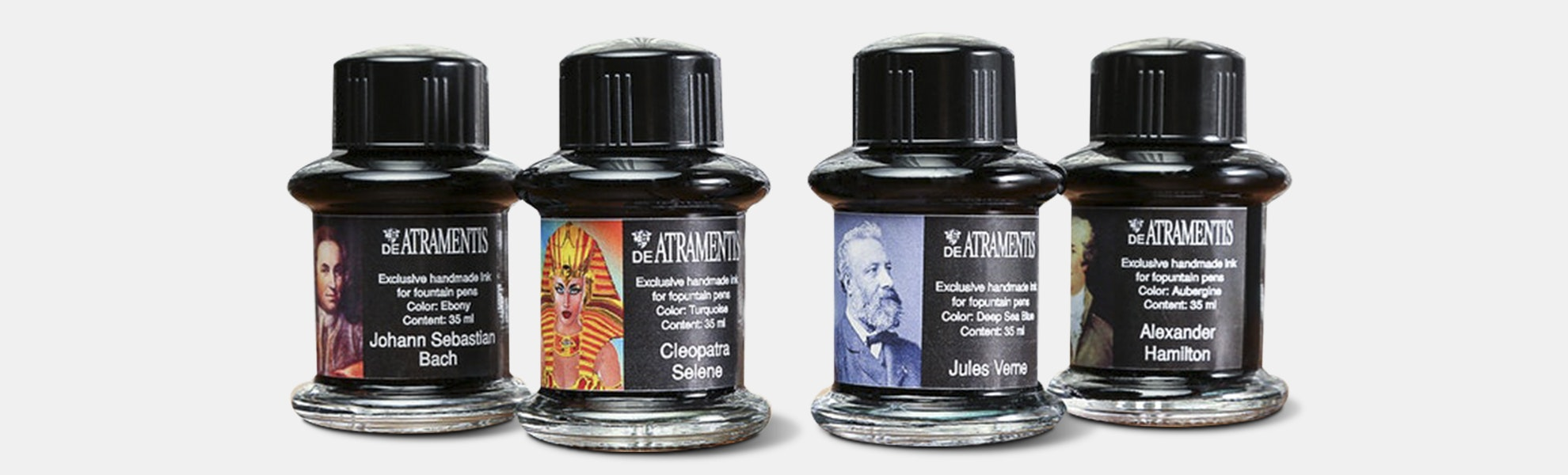 De Atramentis Persons of History Inks (3-Pack)