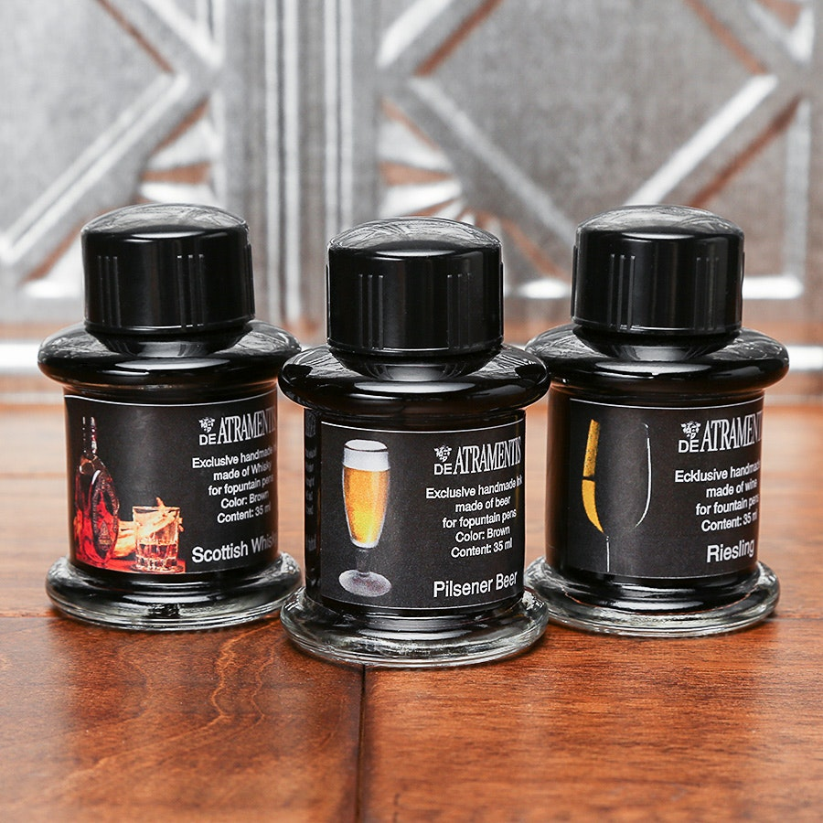 De Atramentis Wine & Spirit Inks (3-Pack)