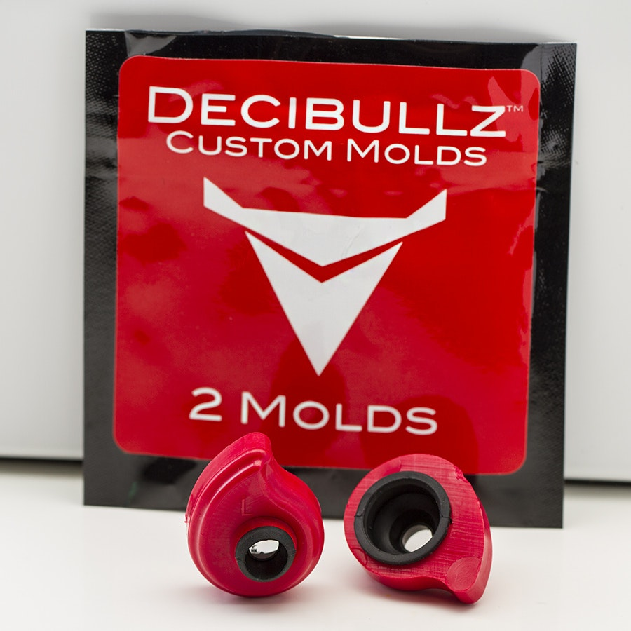 Decibullz Custom Earphone Molds Two Pack