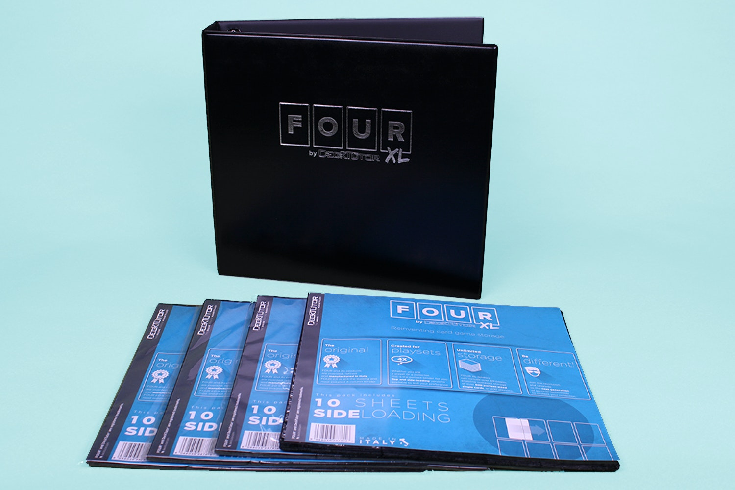 DeckTutor FOUR XL Binder + 40 sheets