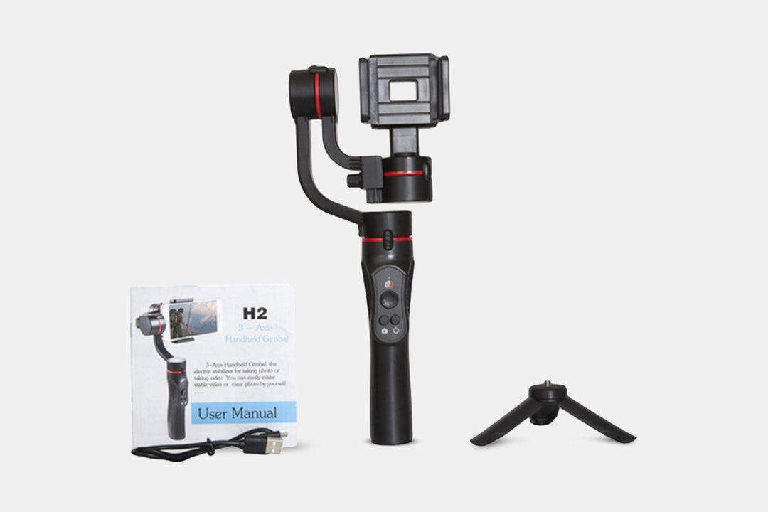 Deco Gear 3-Axis Handheld Gimbal Stabilizer