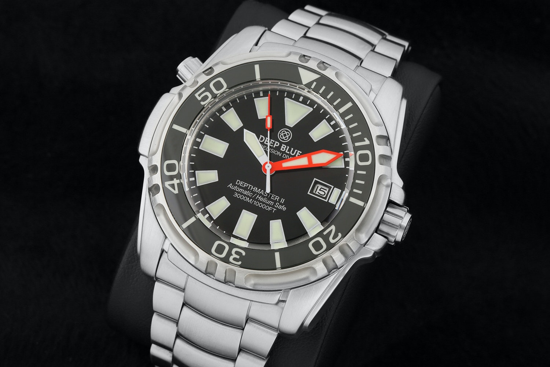 Deep Blue Depthmaster 3000M Automatic Watch