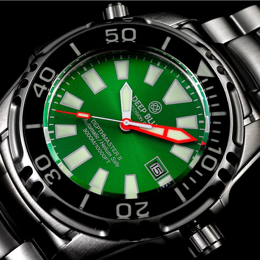 Green dial (DM3K2GRN)