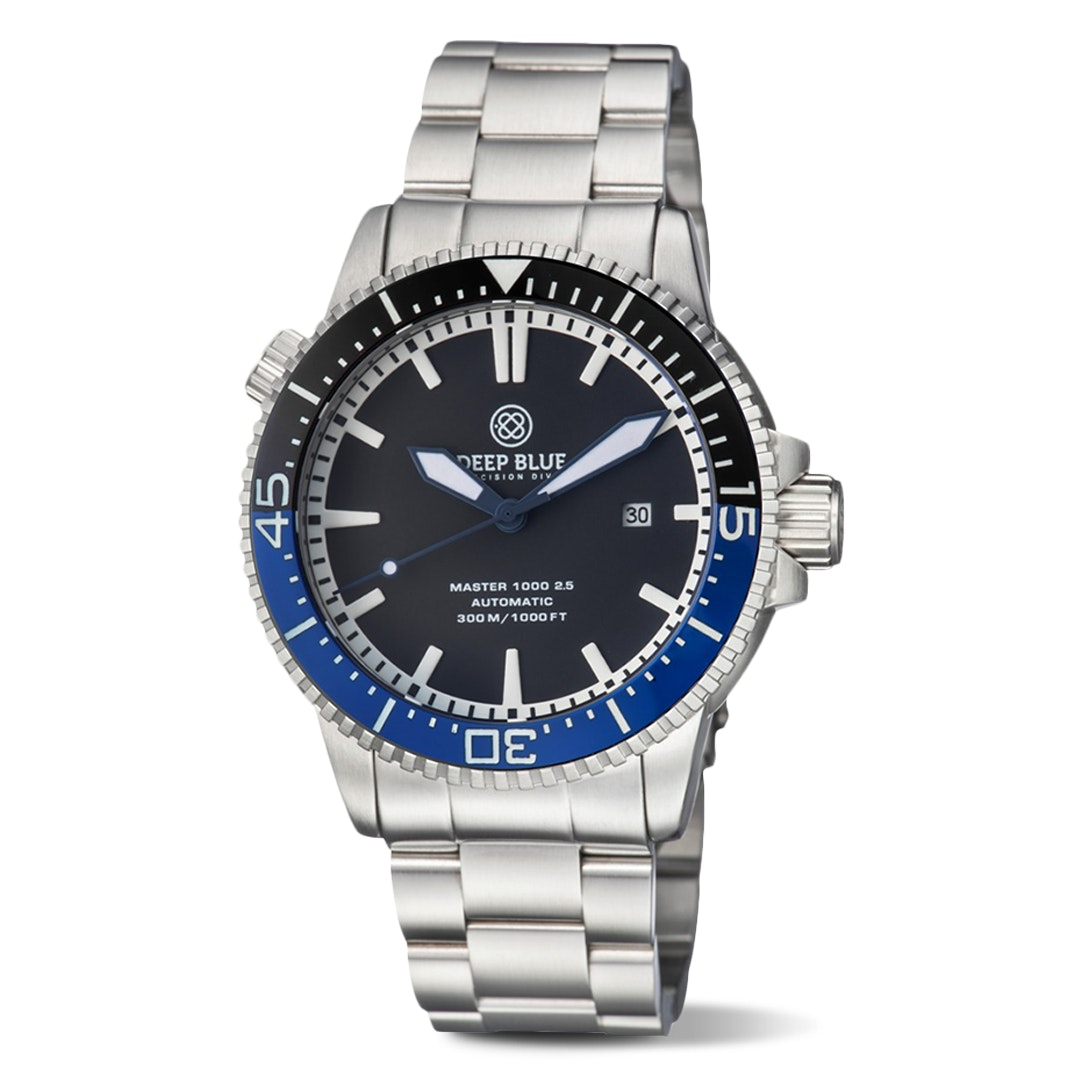 Deep Blue Master 1000 2.5 Automatic Watch