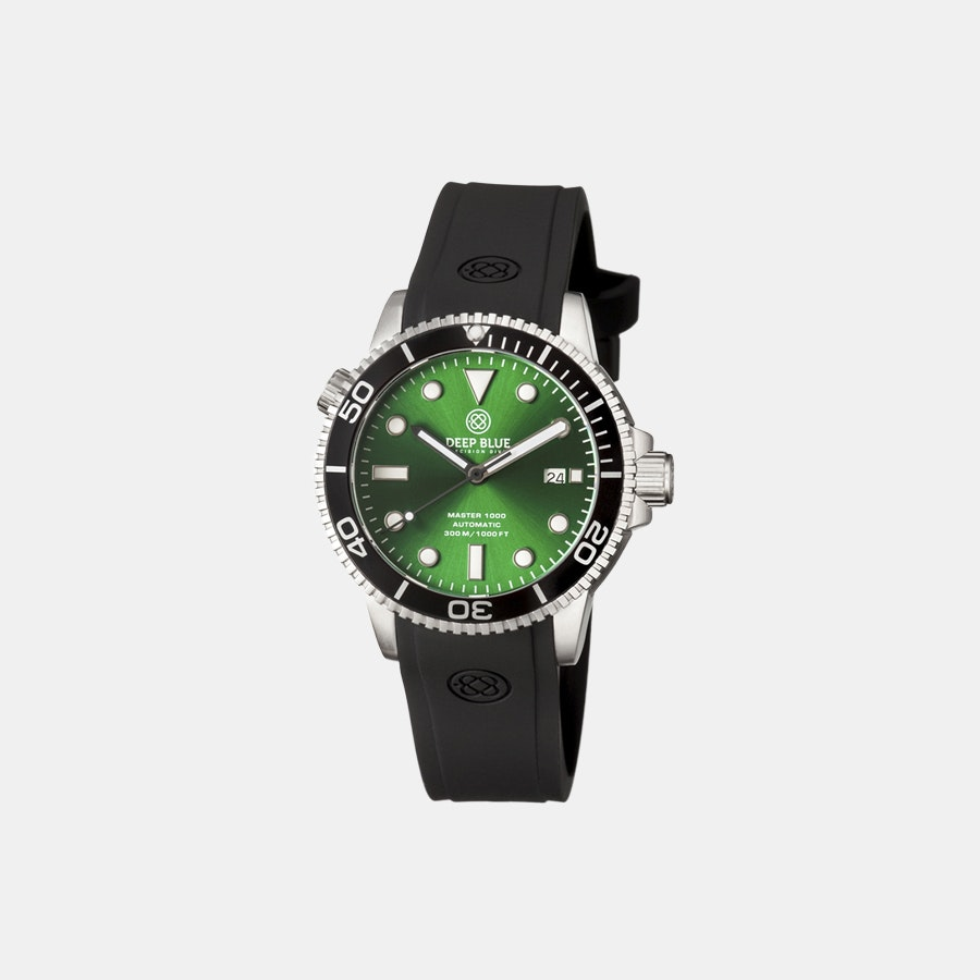 Green sunray dial