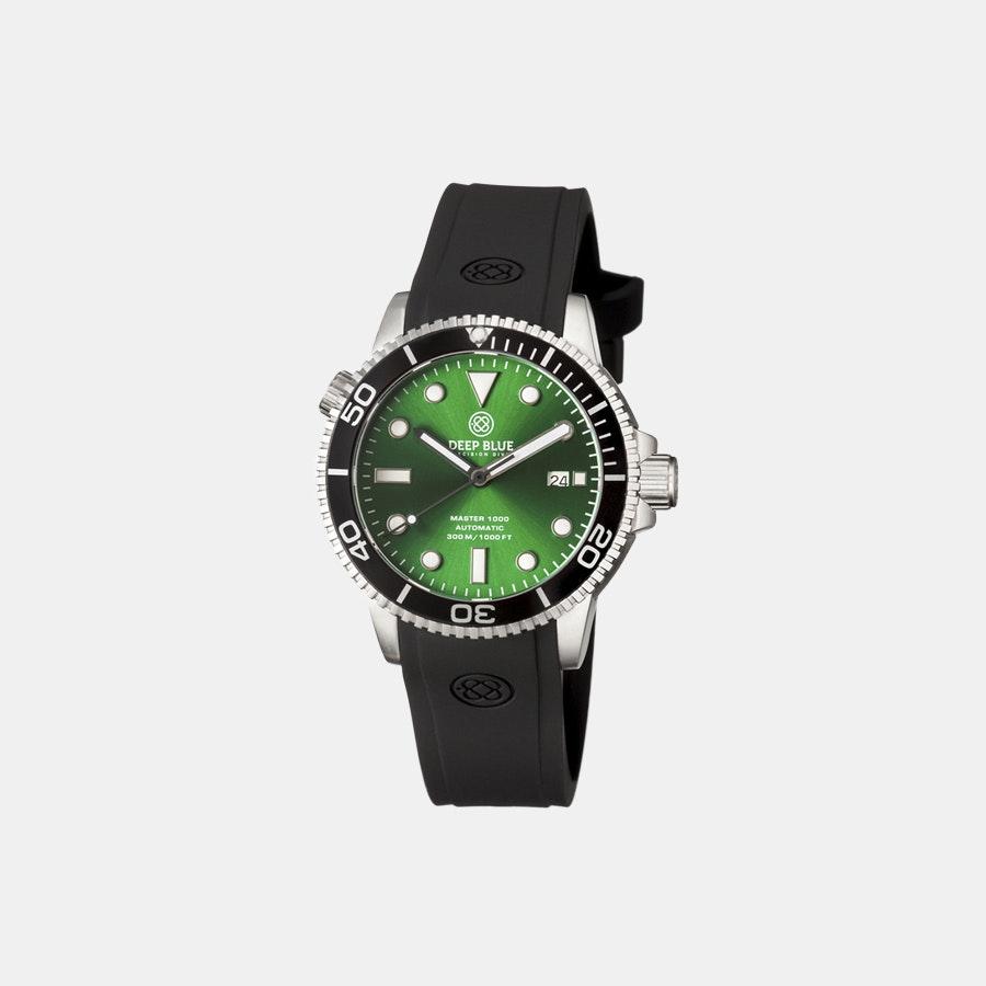 Green sunray dial